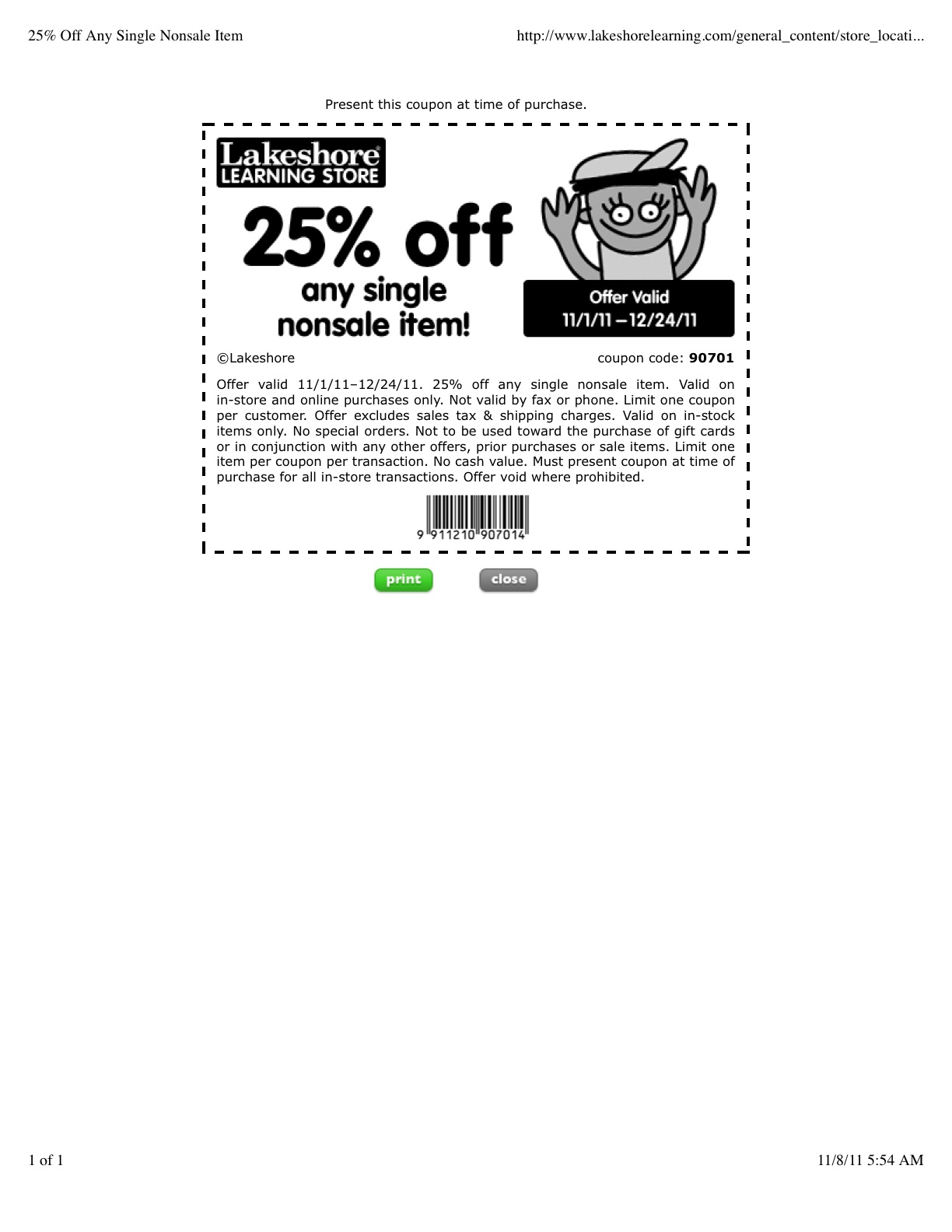 graphic about Lakeshore Learning Printable Coupons named Lakeshore Understanding Coupon Codes